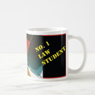 No. 1 Law Student Mug Legal Coffee Java Tea