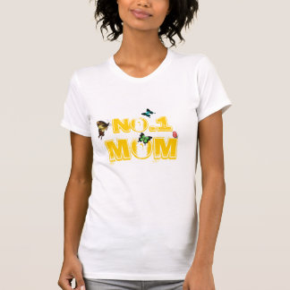 No.1 Mom Butterfly T-Shirt