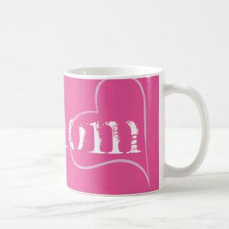 No 1 Mom, Mum, Mother ... Pink Hashtag Coffee Mug