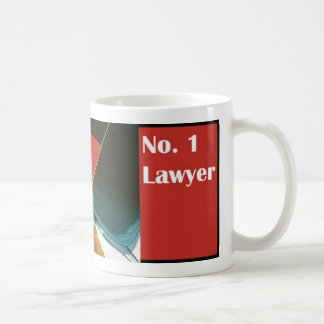 No. 1 Number One Lawyer Attorney Mug