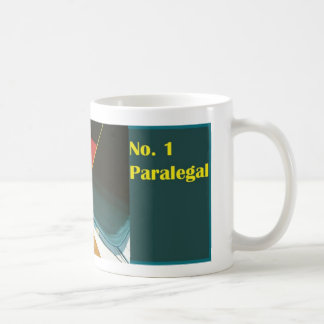 No. 1 Paralegal Number One Paralegal Mug