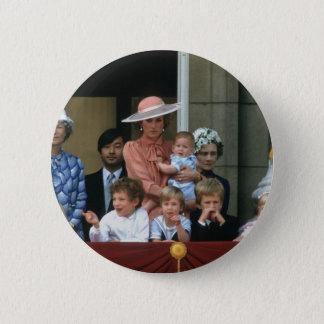 No.20 Prince William Buckingham Palace 1985 6 Cm Round Badge