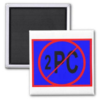 NO_2_PC MAGNET_square Magnet