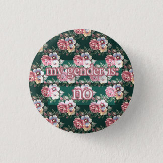 no 3 cm round badge