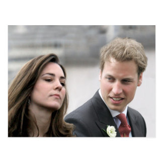 No.47 Prince William & Kate Middleton Postcard