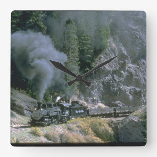No. 497 rounds Phantom Curve_Steam Trains Wall Clock