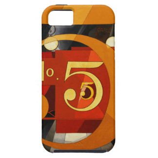 No 5 - The Figure 5 in Gold by Demuth Apple Case