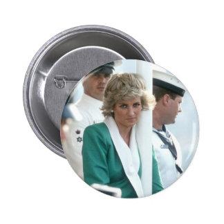 No.82 Princess Diana Sydney 1988 6 Cm Round Badge