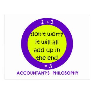 No Accounting Postcard