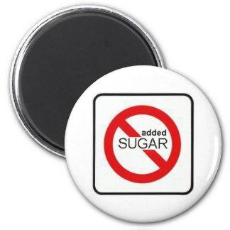 NO added SUGAR Magnet