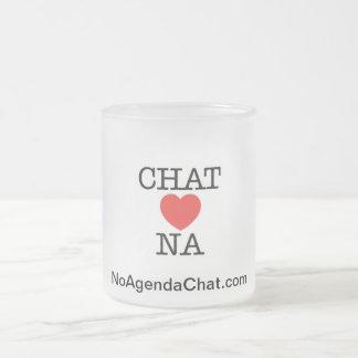 No Agenda Chat Mug