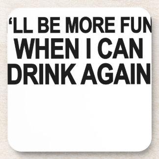 no alcohol T-Shirt png Beverage Coaster