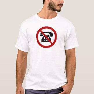 No Analog Phones Thank You T-Shirt