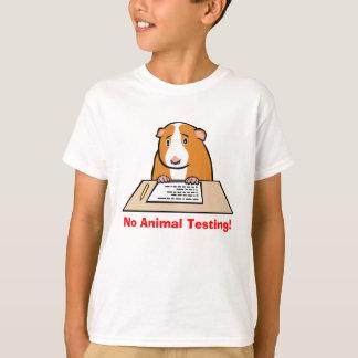 No Animal Testing! T Shirt