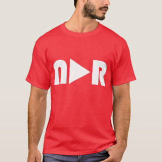 "No Apparent Reason - NAR ""Play Button"" Tee"