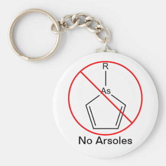 No Arsoles! Key Ring