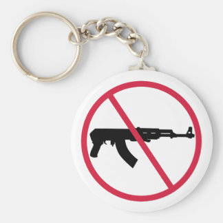 No assault weapons key ring