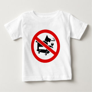 No Awesome Dogs Baby T-Shirt