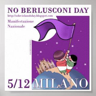 NO B Day Apartitico a Milano Poster