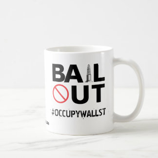 No Bailout Basic White Mug