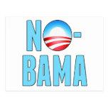 No-Bama Anti Obama Post Cards