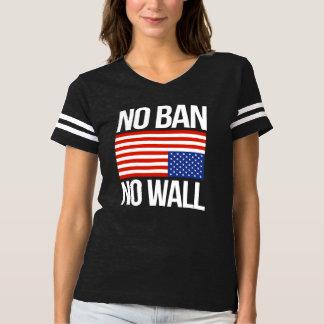 NO BAN NO WALL - white -  T-Shirt