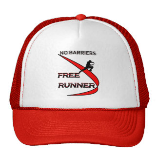 no barriers free runner cap