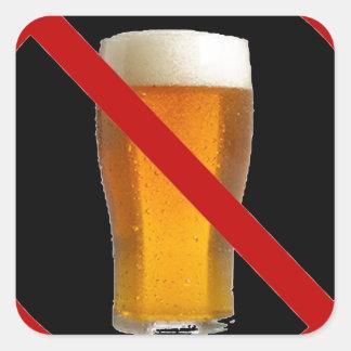 """""""No Beer"""" Stickers"""