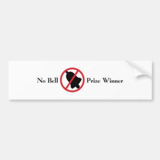 No Bell Bumper Sticker