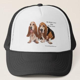no better love than basset love trucker hat