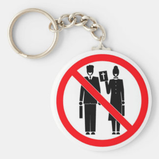 No Bible Thumpers Keychains