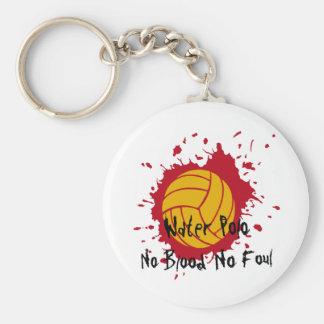 No Blood No Foul Keychain