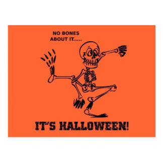No Bones Postcard