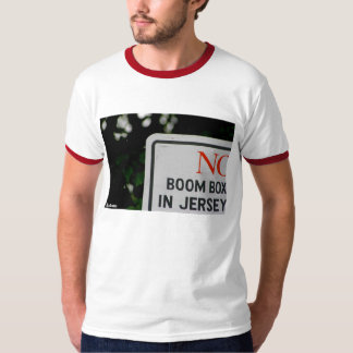 """No Boom Box in Jersey"" - Ringer Tee"