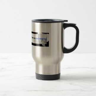 No Boundaries travel mug