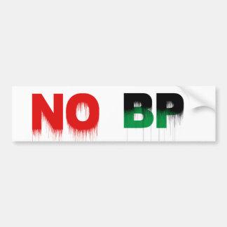 No BP Bumper Sticker