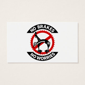 No Brakes No Worries Fixed Gear BMX Track