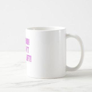 No Bro I Dont Even Lift Basic White Mug