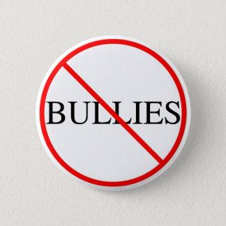 No Bullies 6 Cm Round Badge
