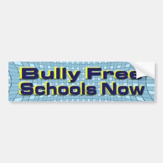 No Bullies Bumper Sticker