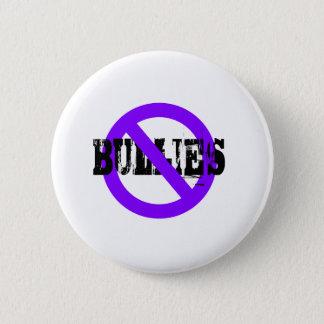 No Bullies purple 6 Cm Round Badge