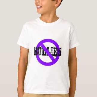 No Bullies purple T-Shirt