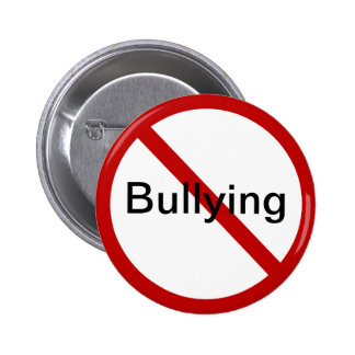 No Bullying 6 Cm Round Badge