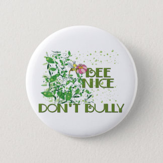 No Bullying 6 Cm Round Badge