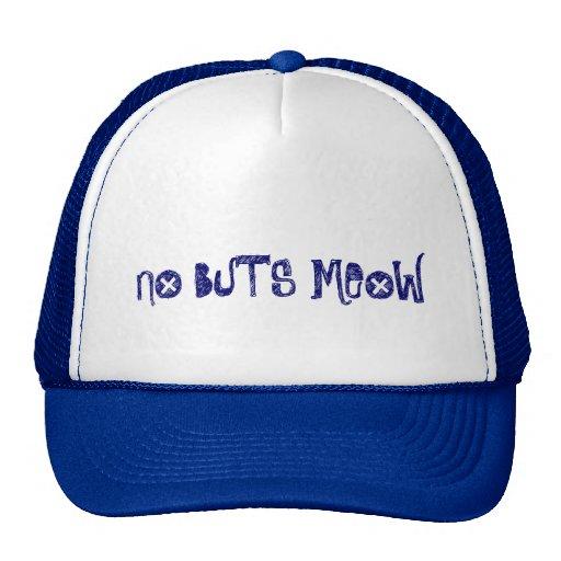 No Buts Meow Mesh Hats