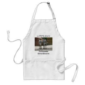 no BUTTS about it Standard Apron