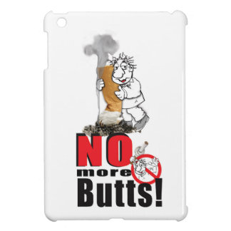 NO BUTTS - Stop Smoking iPad Mini Case