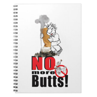 NO BUTTS - Stop Smoking Notebooks