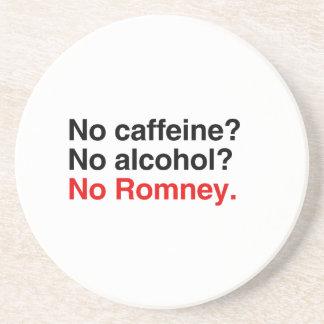 No caffeine No alcohol No Romney png Beverage Coasters