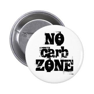 NO carb ZONE Badge